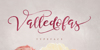 Valledofas just personal only Font rose flower