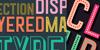 Goldana Base Font poster design