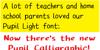 Pupil Light Font screenshot abstract