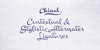 Chinal Light PERSONAL USE ONLY Font handwriting text