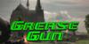 Grease Gun Font screenshot grass