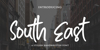 South East Font poster