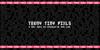 Teeny Tiny Pixls Font text font