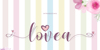 Lovea Font design typography
