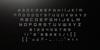 Orena Font screenshot black