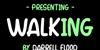 Walking Font screenshot text