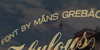 Fabulous PERSONAL USE Font outdoor sky