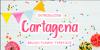 Cartagena Font poster