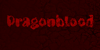 DK Dragonblood Font red maroon