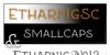 Etharnig Font screenshot design