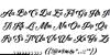 Krinkes Decor PERSONAL USE Font Letters Charmap