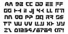 Command Override Font Letters Charmap