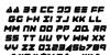 Zealot Italic Font Letters Charmap