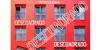 Descuadrado Font building red