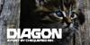 Diagon Font cat animal