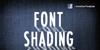 CF Font Shading  Font screenshot poster