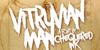 Vitruvian Man Font handwriting design