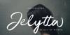 Jelytta Font design typography