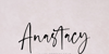 Anastacy Font handwriting