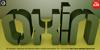 Oxin Army Font cartoon design