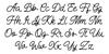 Manteman Regular Font Letters Charmap