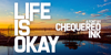 Life Is Okay Font screenshot graphic