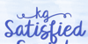 KG Satisfied Script Font handwriting text