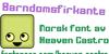 Barndomsfirkante Font design graphic