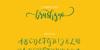 brushgyo Font handwriting text