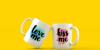 in blossom vintage Font mug cup