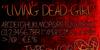 Living Dead Girl Font text book