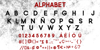 Zilap Mistery Personal Use Font text font