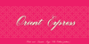 Maya Tiles PROMO Font design typography