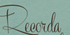 Recorda Script Personal Use Onl Font handwriting whiteboard
