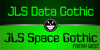 JLS Data Gothic Font screenshot green