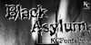 Black Asylum Font drawing cartoon