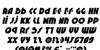 Neuralnomicon Italic Font Letters Charmap