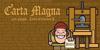 Carta Magna Line Font cartoon text