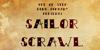 Sailor Scrawl Font book poster