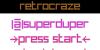 RetroCraze Font screenshot design
