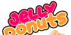 Jelly Donuts Font fast food cartoon