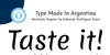 Merienda Font text screenshot
