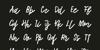Tadworth Font handwriting text