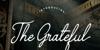The Grateful 4 Font handwriting text