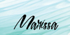 emilia natasha Font poster