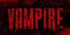 vampire Font poster