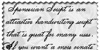 Spencerian Lady's Hand SW Font handwriting text