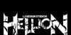 Hellion Font design cartoon