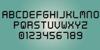 Digital tech Font font text