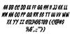 Charmling Italic Font Letters Charmap
